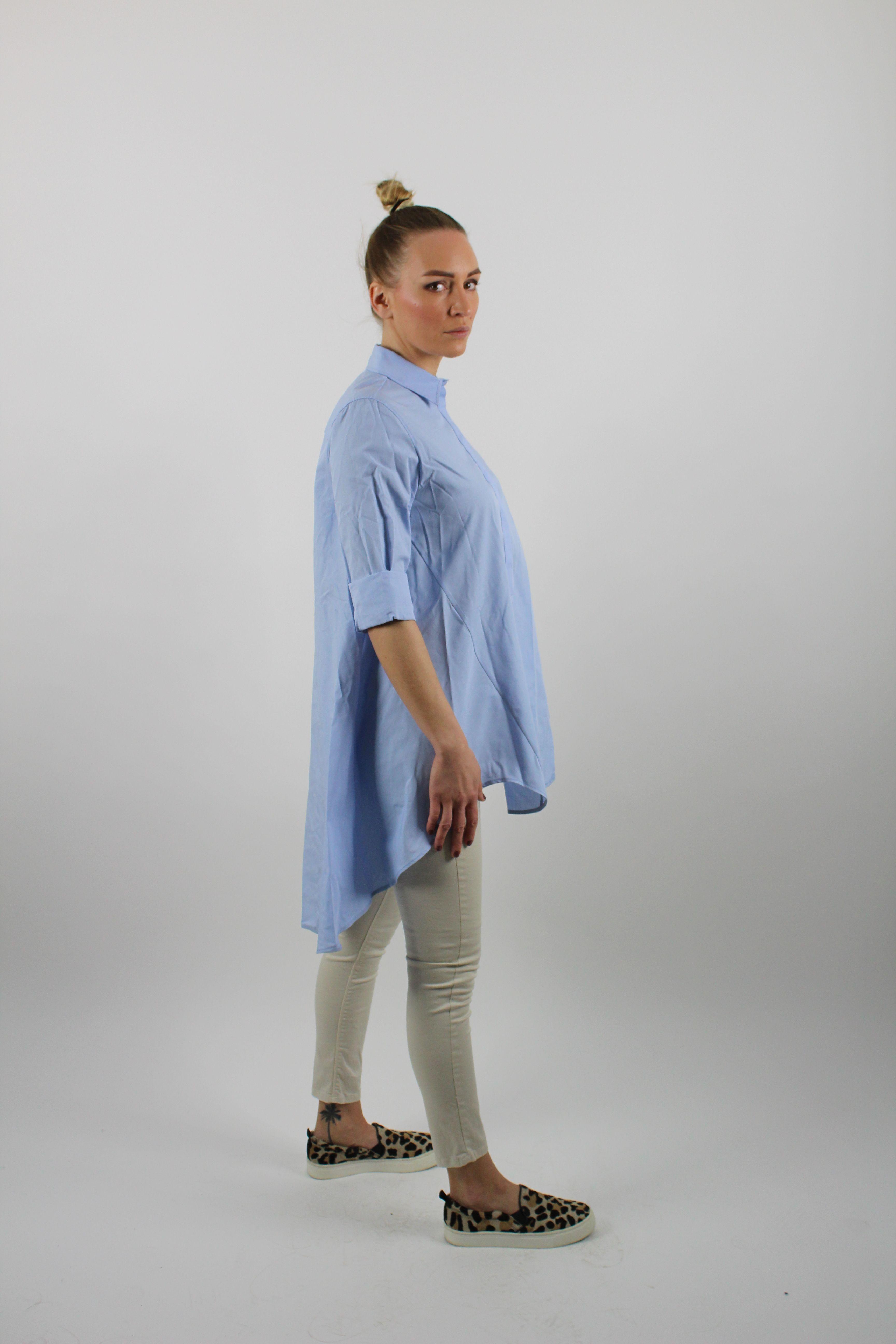 2fca740d1aa Predĺžená dámska košeľa - Brands Made in Italy