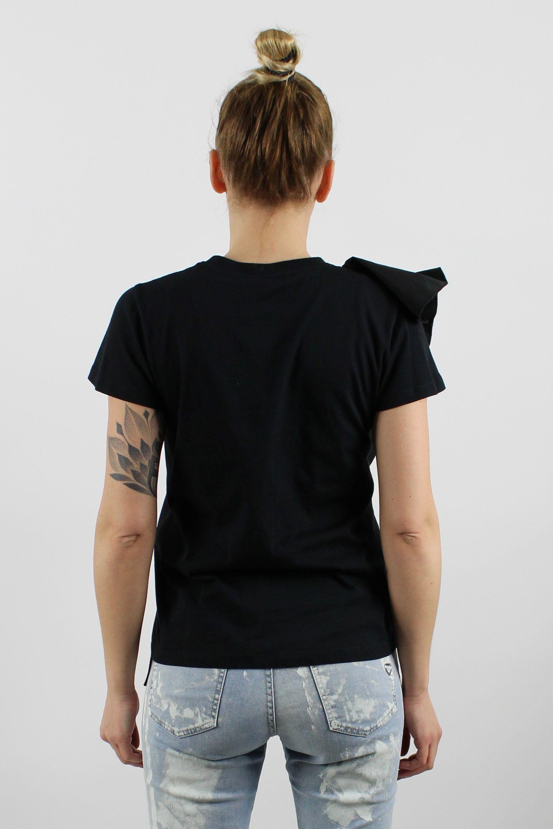 c70c9c2bfea Dámske tričko s volánom - Brands Made in Italy