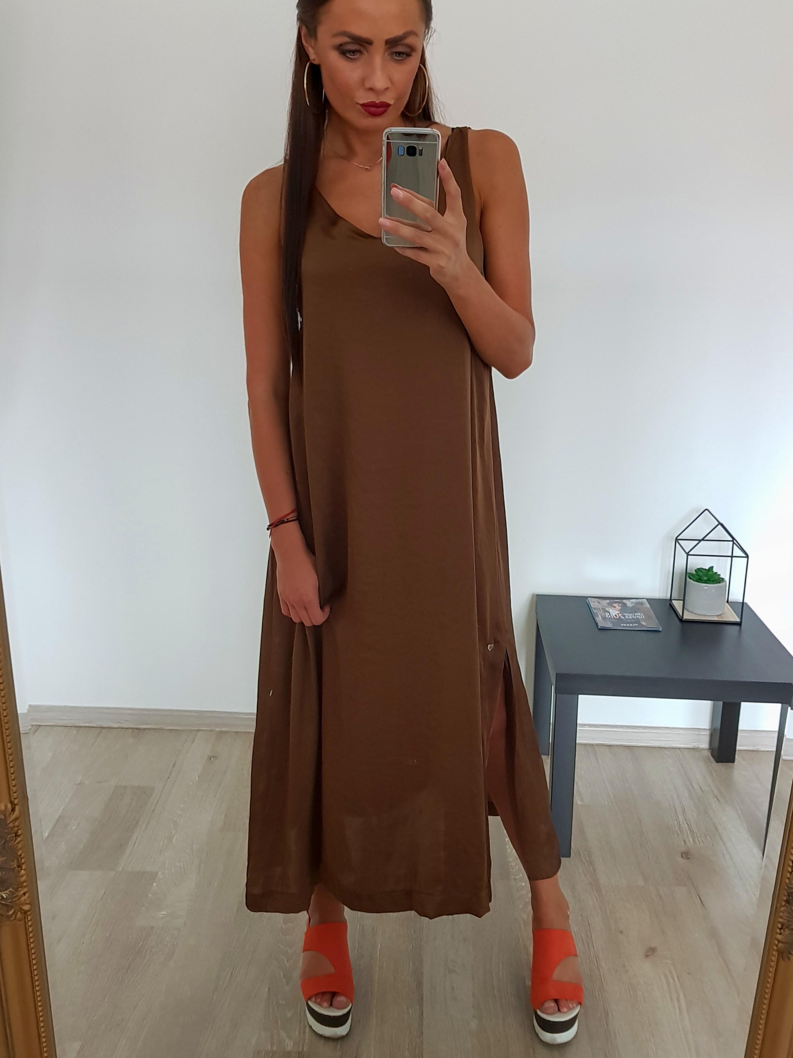 2238435bddd Dlhé ľahké šaty - Brands Made in Italy